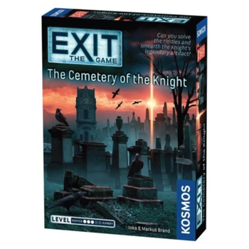 Exit: The Game - The Cemetery of the Knight board game