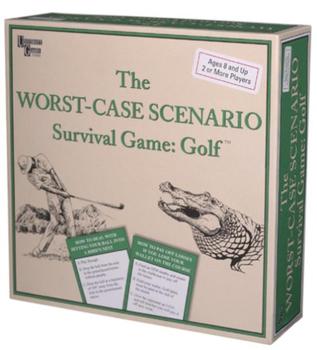 The Worst-Case Scenario Survival Game: Golf board game