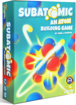 Subatomic: An Atom Building Game board game