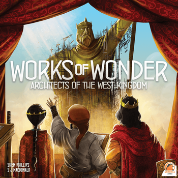 Architects of the West Kingdom: Works of Wonder board game