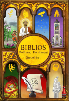 Biblios: Quill and Parchment board game