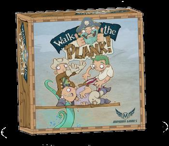Walk the Plank! board game