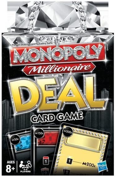Monopoly Millionaire Deal Card Game board game