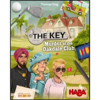 The Key: Murder at the Oakdale Club board game