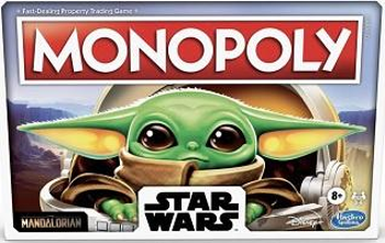 Monopoly Star Wars The Child Baby Yoda board game