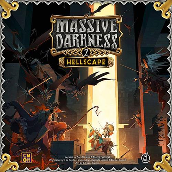 Massive Darkness 2: Hellscape board game