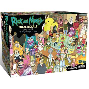 Rick and Morty: Total Rickall board game