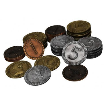 Clans of Caledonia: Coin Set board game