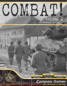Combat! 2: From D-Day To V-E Day Campaign Expansion board game