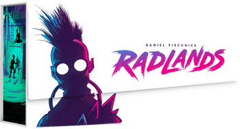Radlands board game