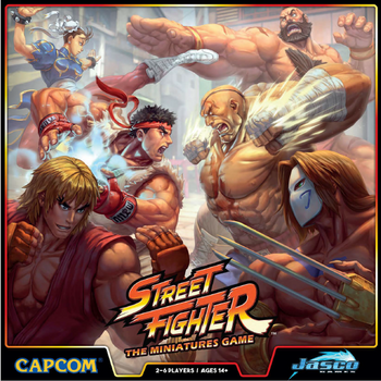 Street Fighter: The Miniatures Game board game