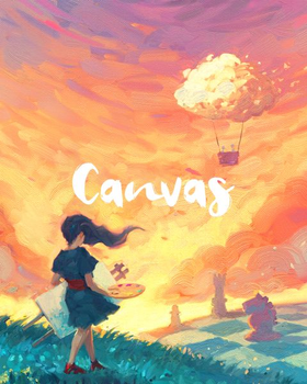 Canvas board game