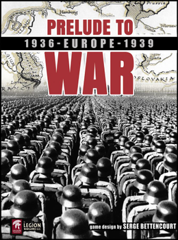 Prelude to War: Europe 1936-1939 board game