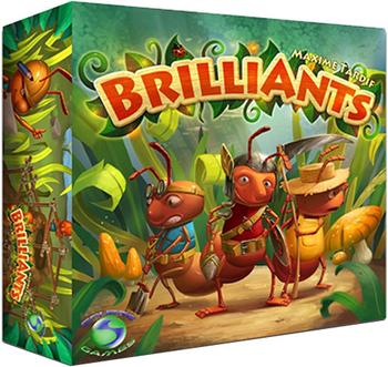 BrilliAnts board game