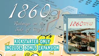 1860: Railways on the Isle of Wight board game