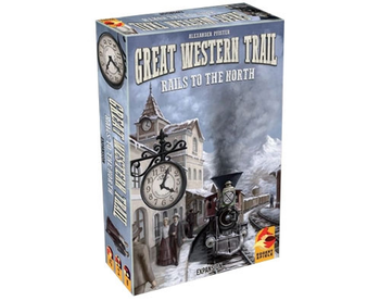 Great Western Trail: Rails to the North board game