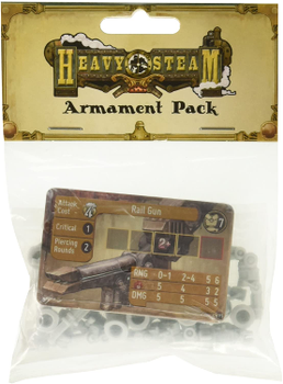 Heavy Steam: Armament Pack board game