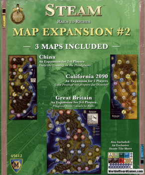 Steam: Map Expansion #2 board game