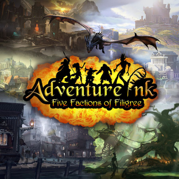 Adventure Ink: Five Factions of Filigree board game