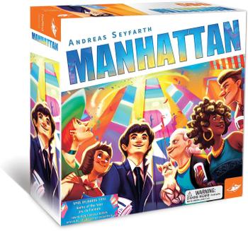Manhattan board game