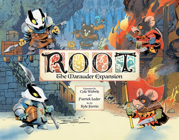 Root: The Marauder Expansion board game