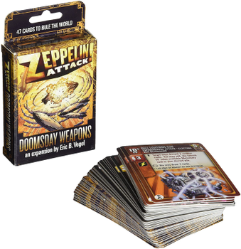 Zeppelin Attack!: Doomsday Weapons board game