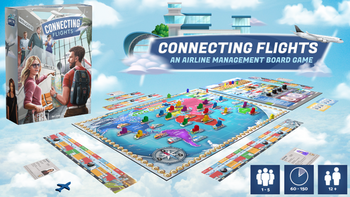 Connecting Flights board game