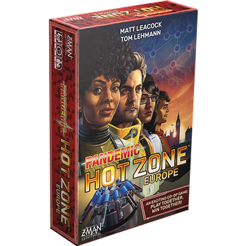 Pandemic: Hot Zone – Europe board game