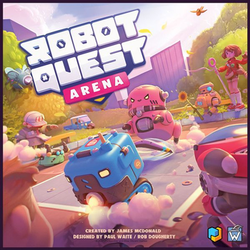 Robot Quest Arena board game
