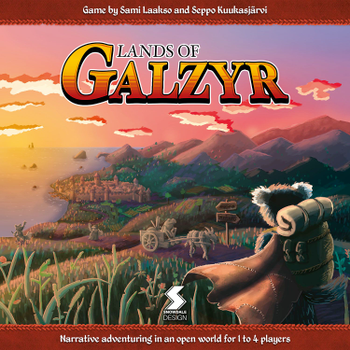Lands of Galzyr board game