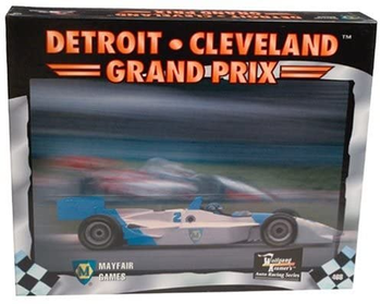 Detroit-Cleveland Grand Prix board game