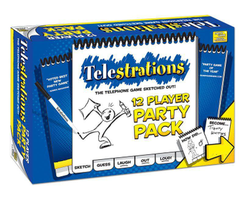 Telestrations: 12 Player Party Pack board game