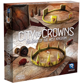 Paladins of the West Kingdom: City of Crowns board game