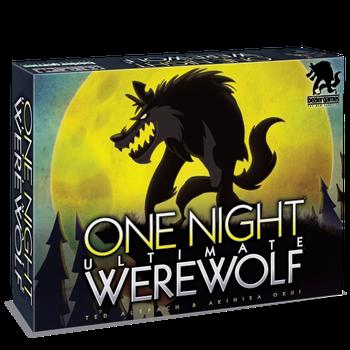 One Night Ultimate Werewolf board game
