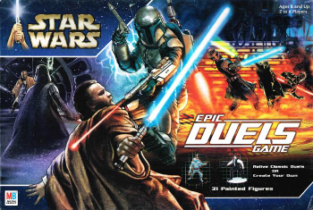 Star Wars: Epic Duels Game board game