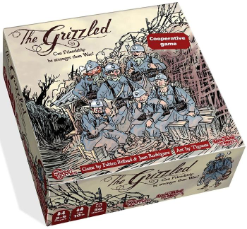 The Grizzled board game