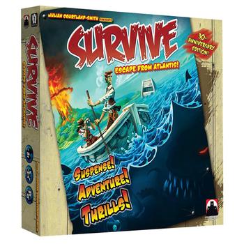 Survive: Escape From Atlantis board game