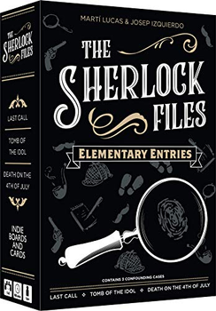 The Sherlock Files: Elementary Entries board game