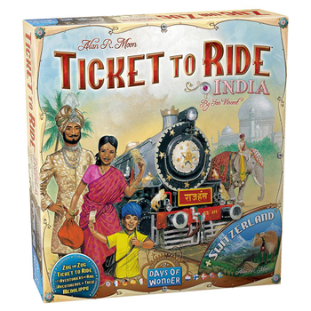 Ticket to Ride Map Collection: Volume 2 – India & Switzerland board game