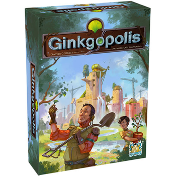 Ginkgopolis board game