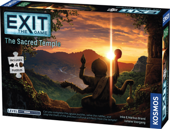 Exit: The Game + Puzzle - The Sacred Temple board game
