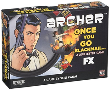 Archer: Once You Go Blackmail board game