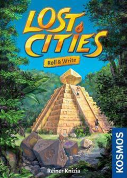 Lost Cities: Roll & Write board game