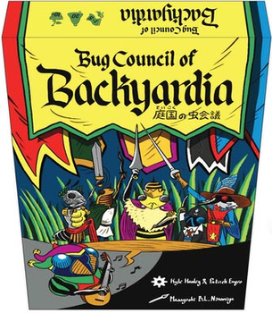 Bug Council of Backyardia board game