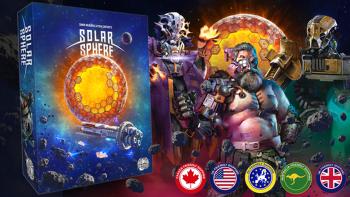 Solar Sphere board game