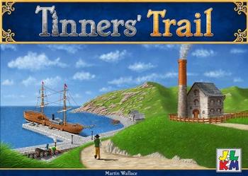 Tinners' Trail board game