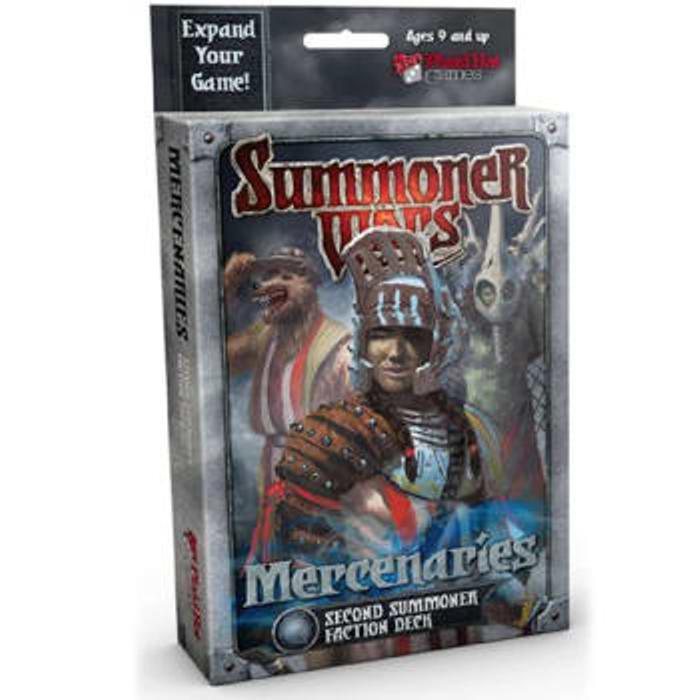 Summoner Wars: Mercenaries Second Summoner Faction Deck