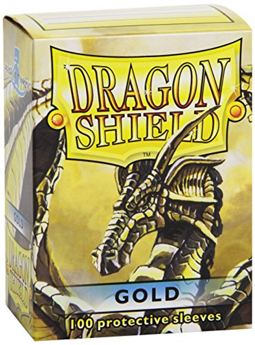 Protective Card Sleeves (100 Count), Gold