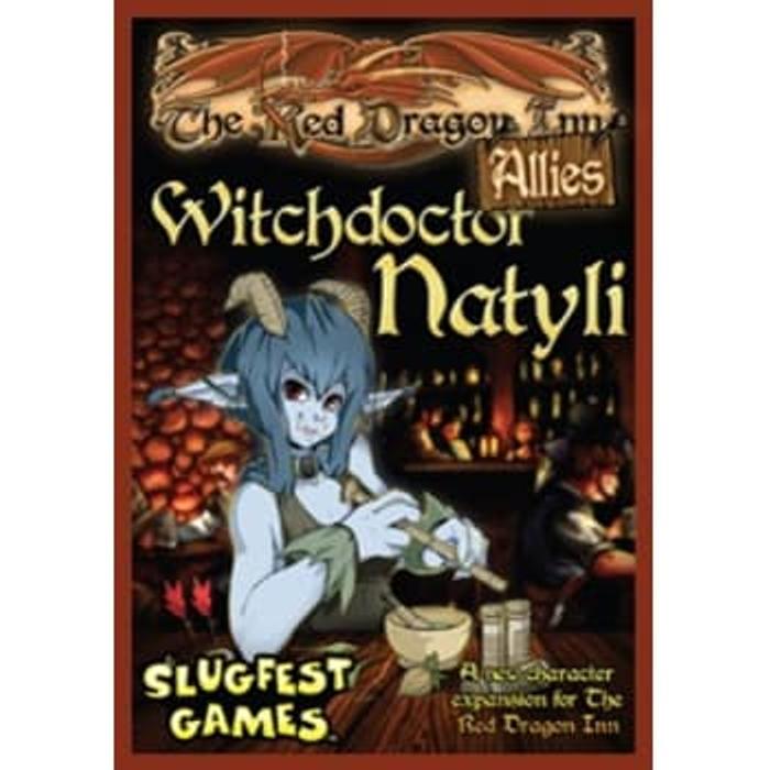 Red Dragon Inn: Allies: Witchdoctor Natyli