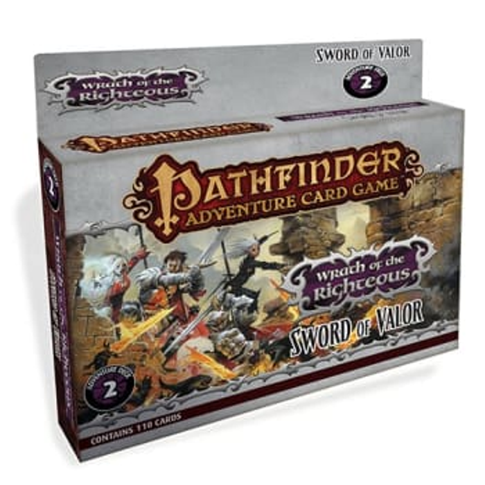 Pathfinder Adventure Card Game: Wrath of the Righteous Adventure Deck 2: Sword of Valor